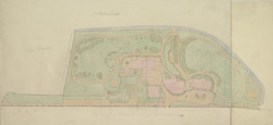 [Plan of the Ranger's House and grounds adjoining, with the improvements proposed in the Park]